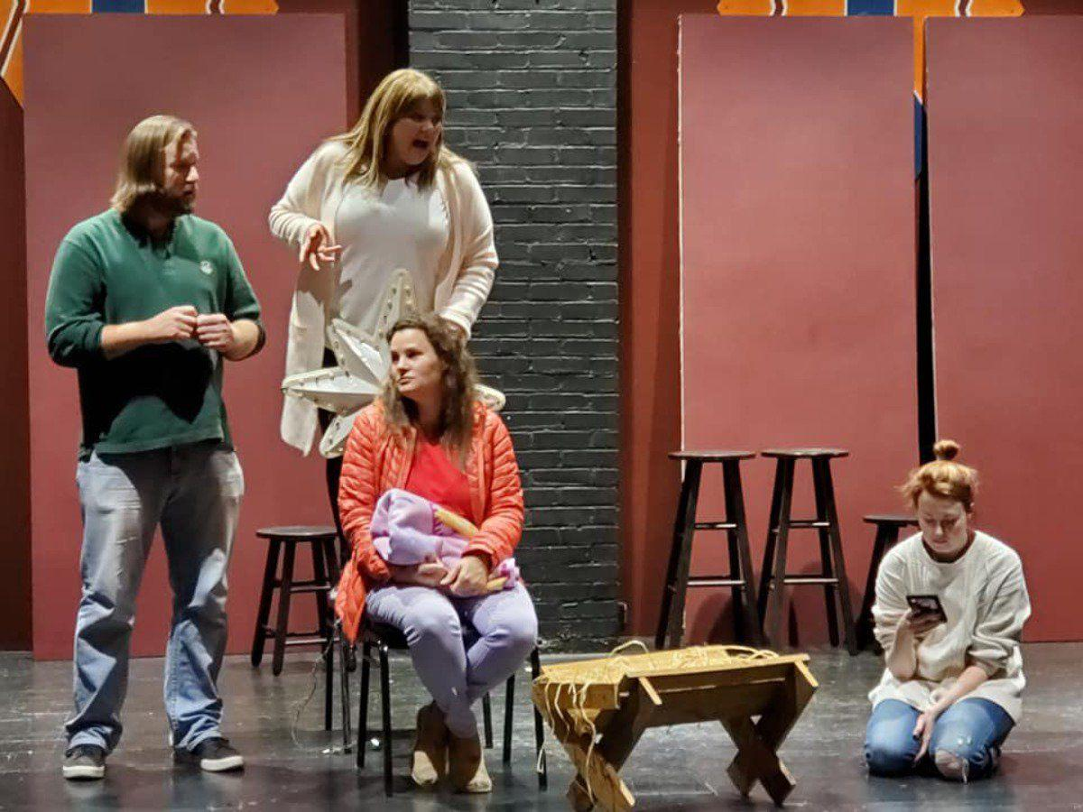 Rehearsals held for upcoming play from Arts Council