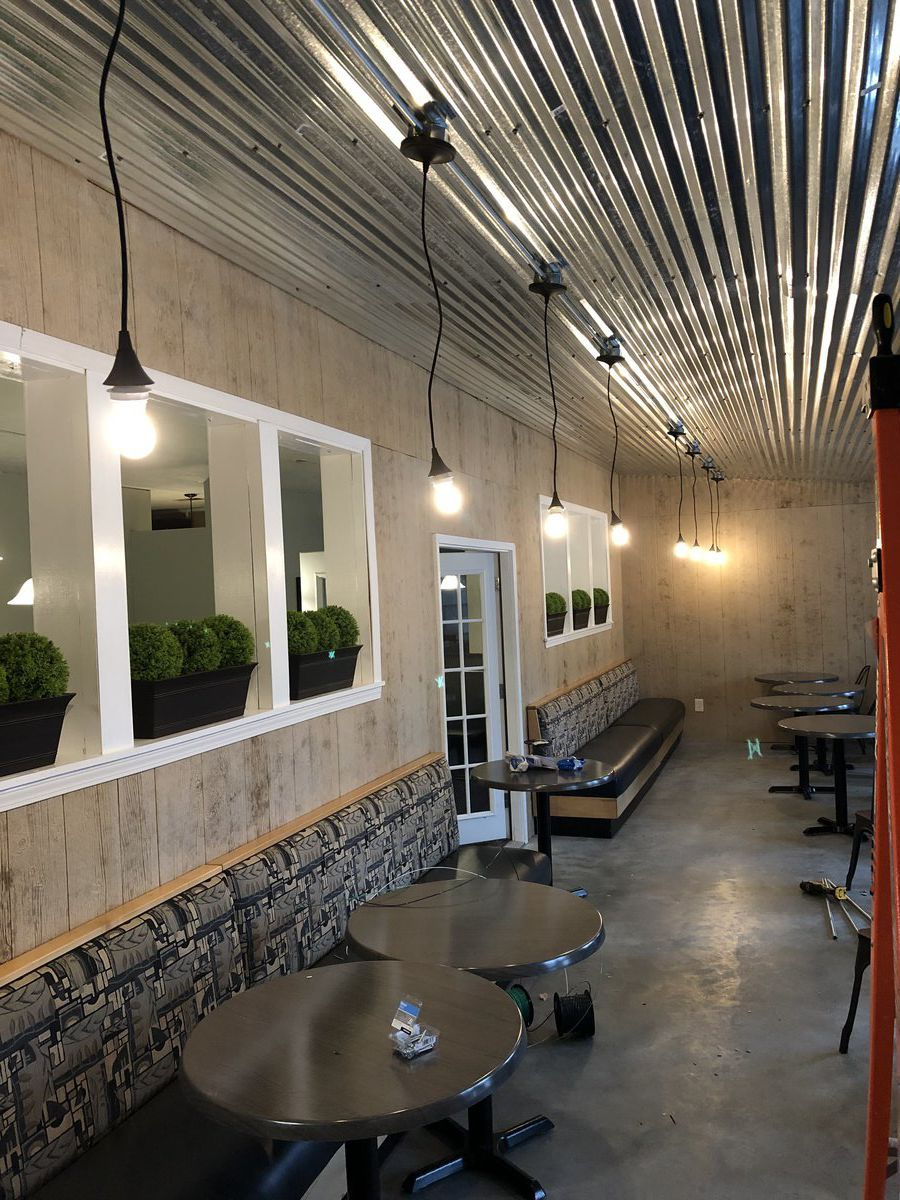 Restaurant expansion nearing completion