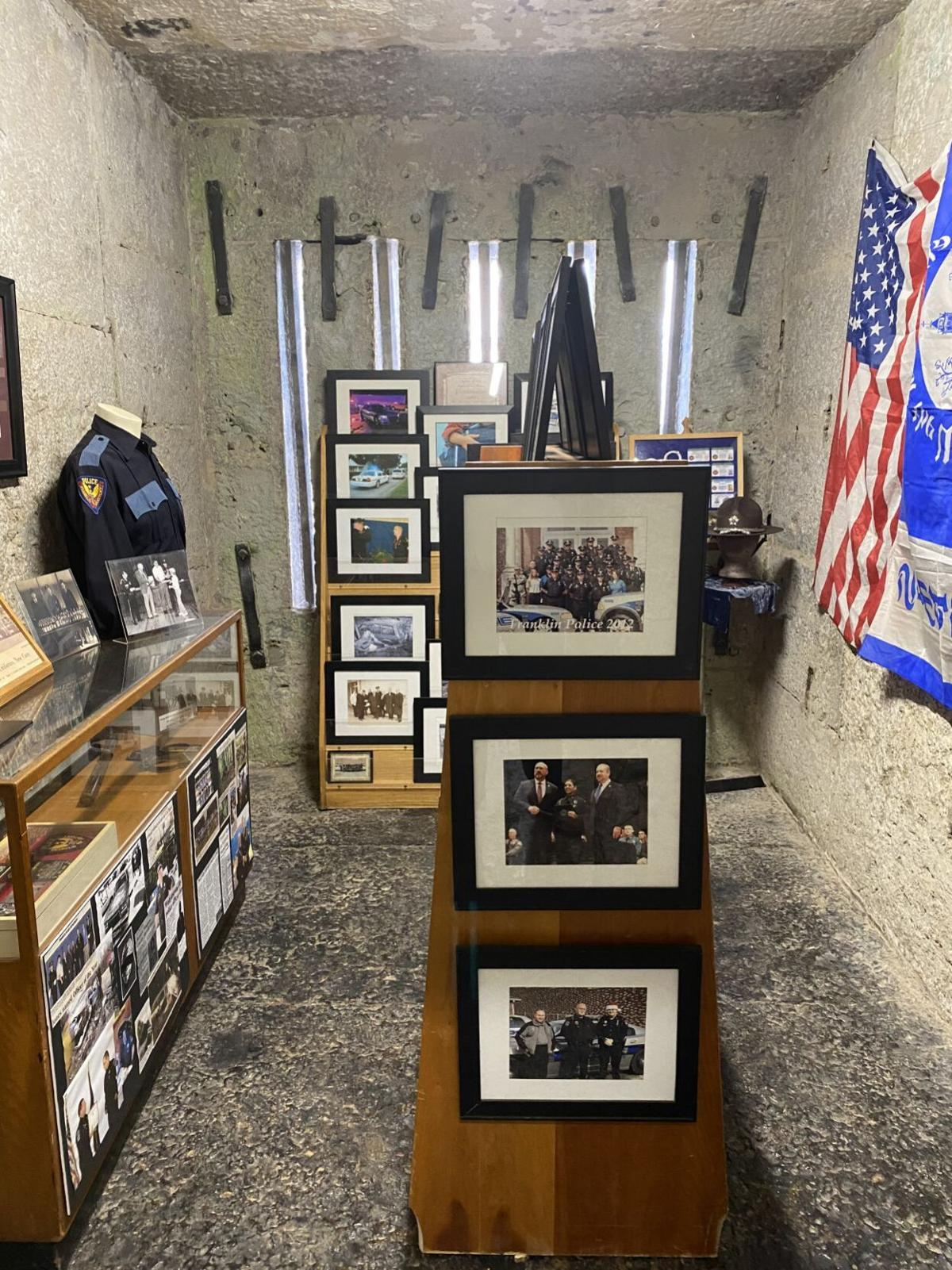 Exhibit honoring law enforcement on display at old jail