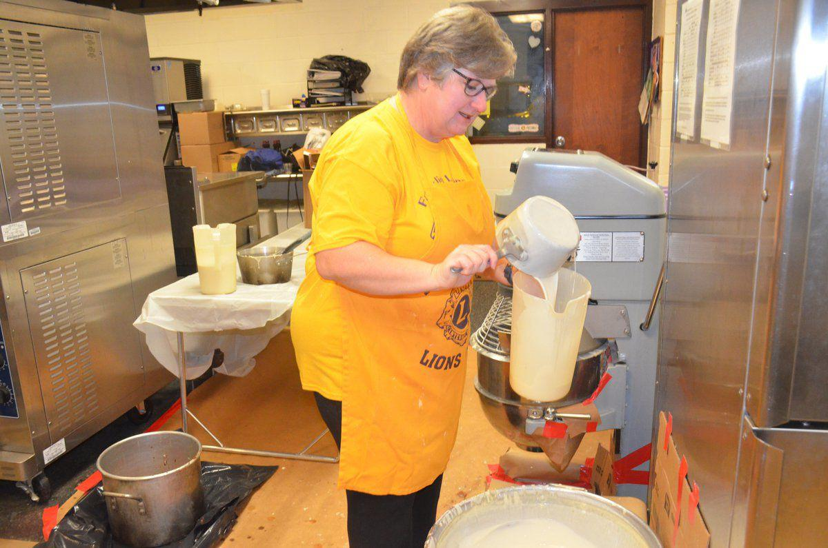 Community attends 61st Annual Lions Club Pancake Fry