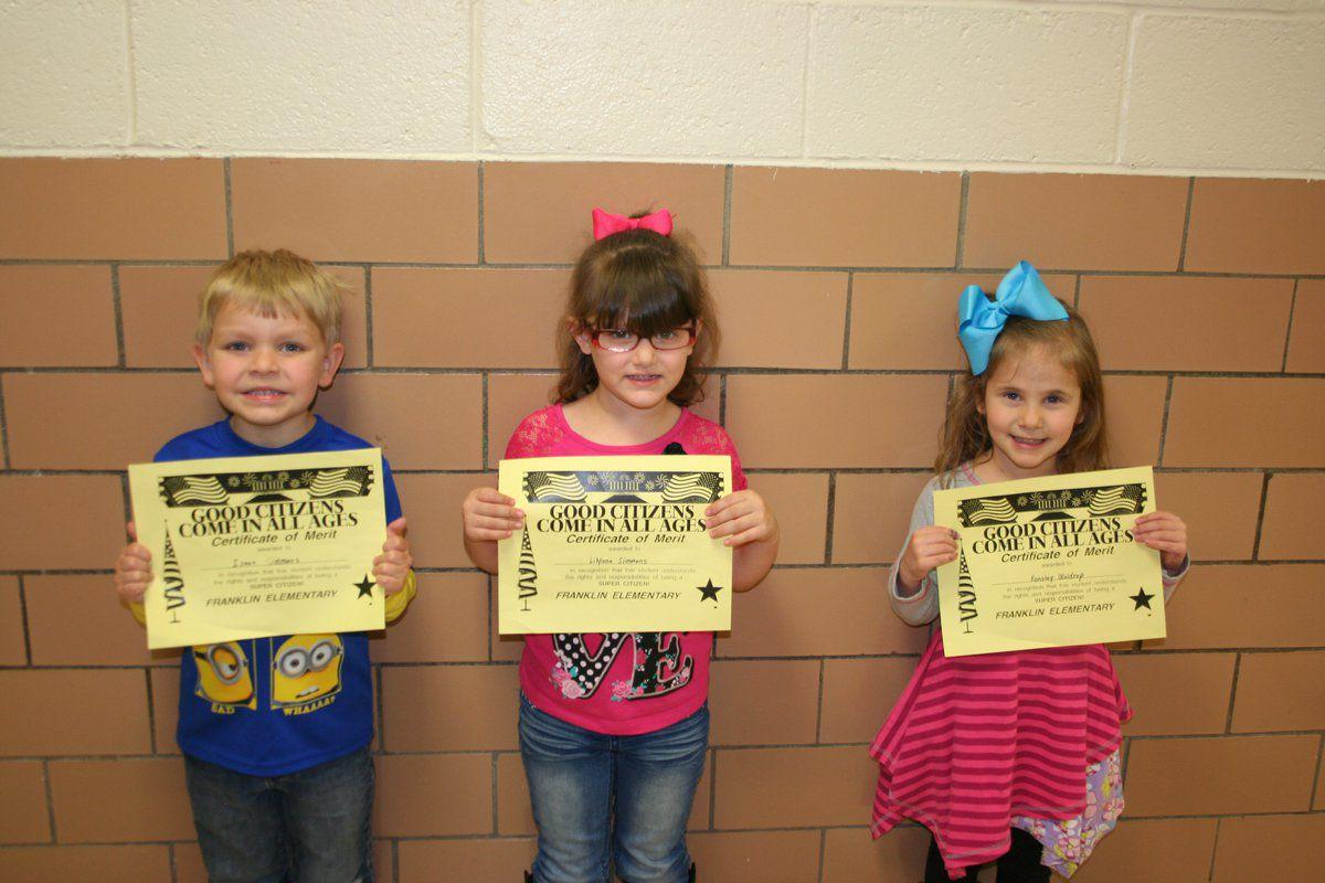FES March Preschool Super Citizens