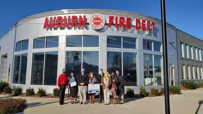 Auburn Fire Department earns December Business Beautification award