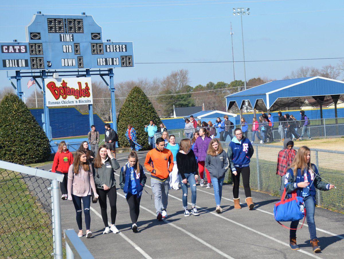 FSHS students join national walkout movement