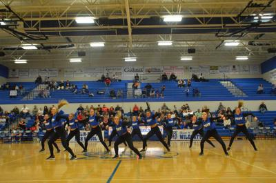 Dance team preparing for state competition