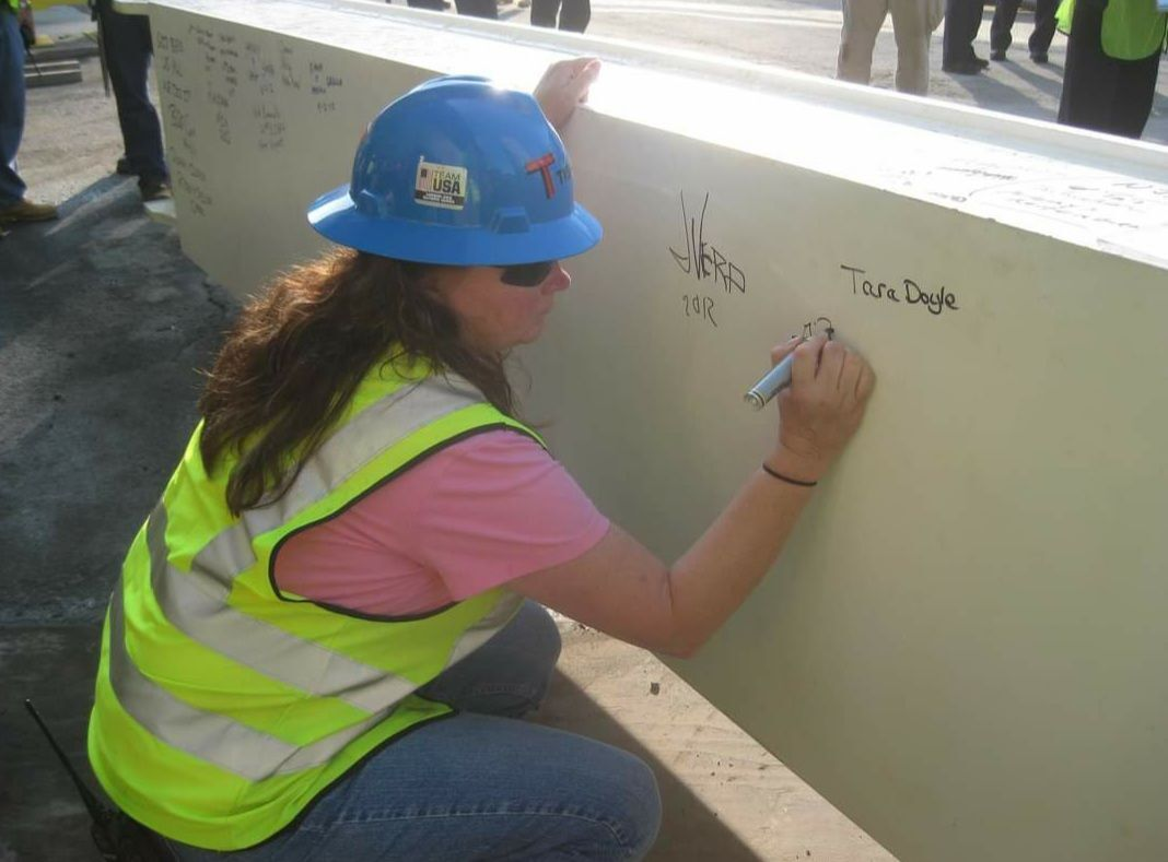 Building a Memorial - local gal helps heal a nation