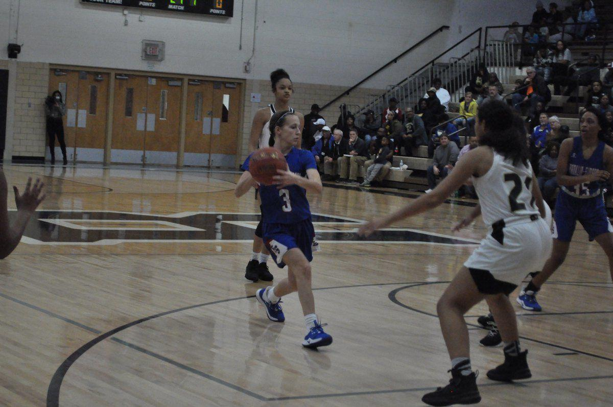 Lady Cats battle Russellville Lady Panthers for, 44-34 district win