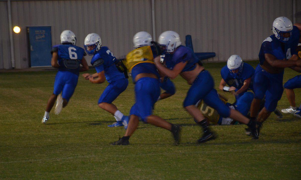 Wildcats finish football camp