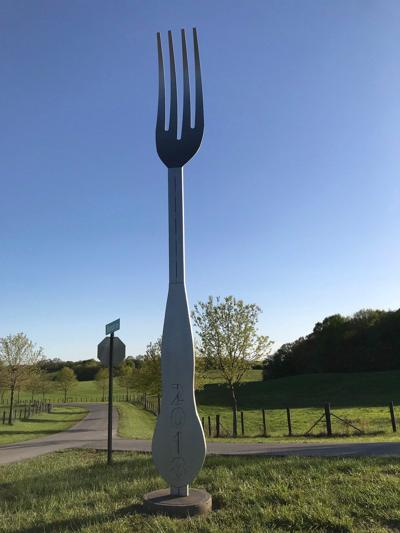 F-S welding department creates giant fork display