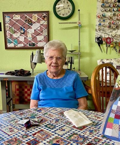 Sewing together a community at 91