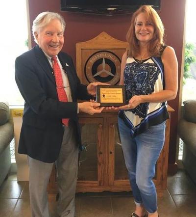 Kentucky Aviation Association Legislative Committee honors Sobey