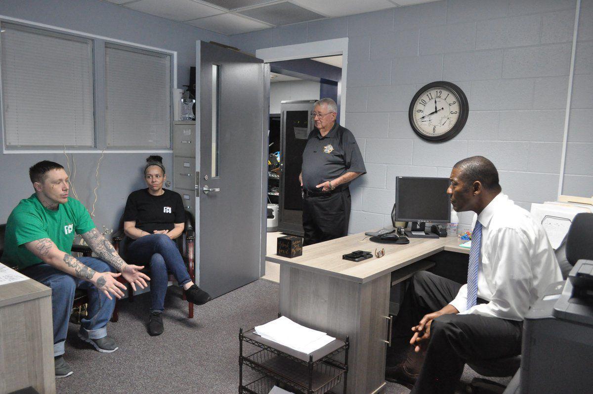 Sec. Ramsey visits Detention Center