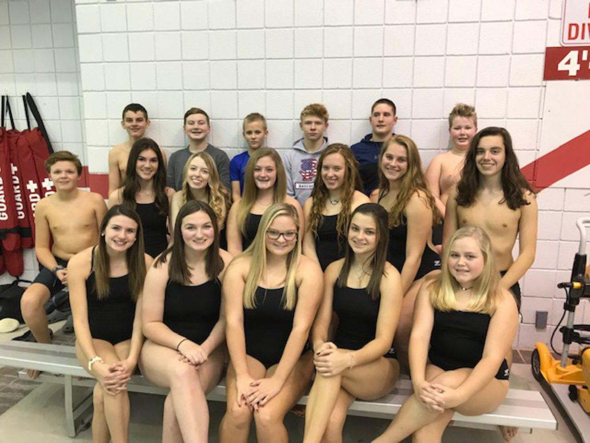 F-S swim team continues to compete