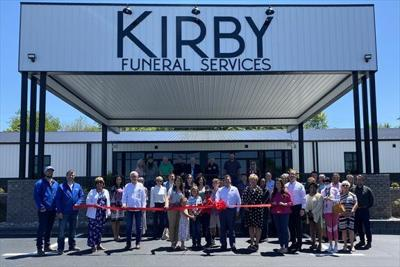 Kirby Funeral Services celebrated during grand opening