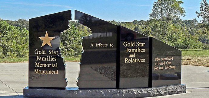 PHOTO Gold Star Families Memorial