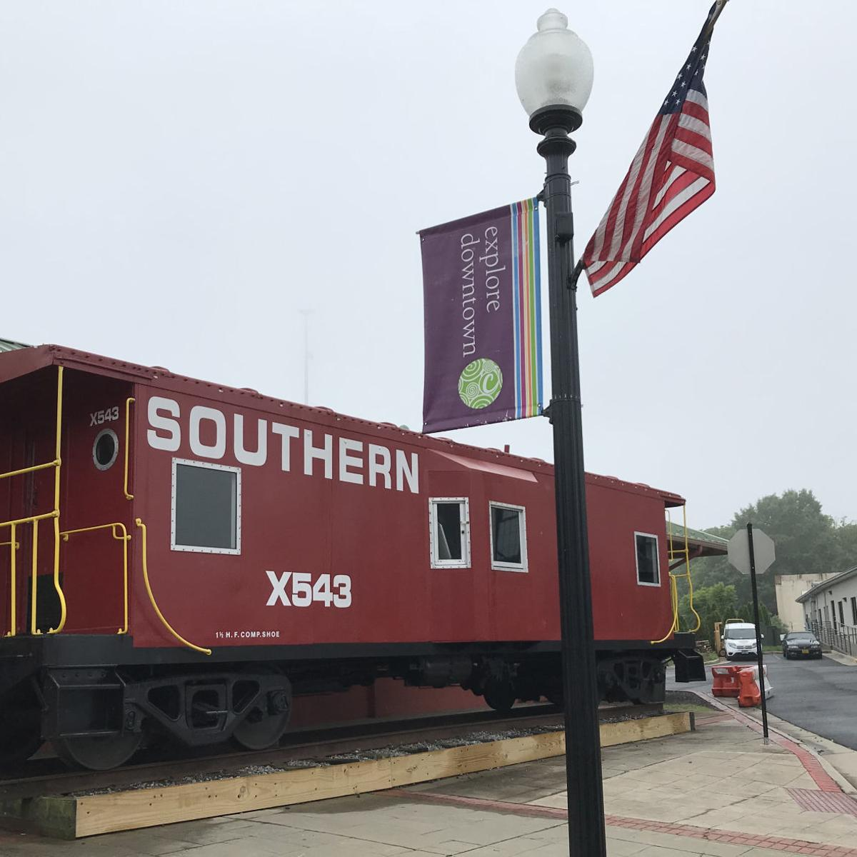 All aboard: Culpeper caboose on track for upgrade