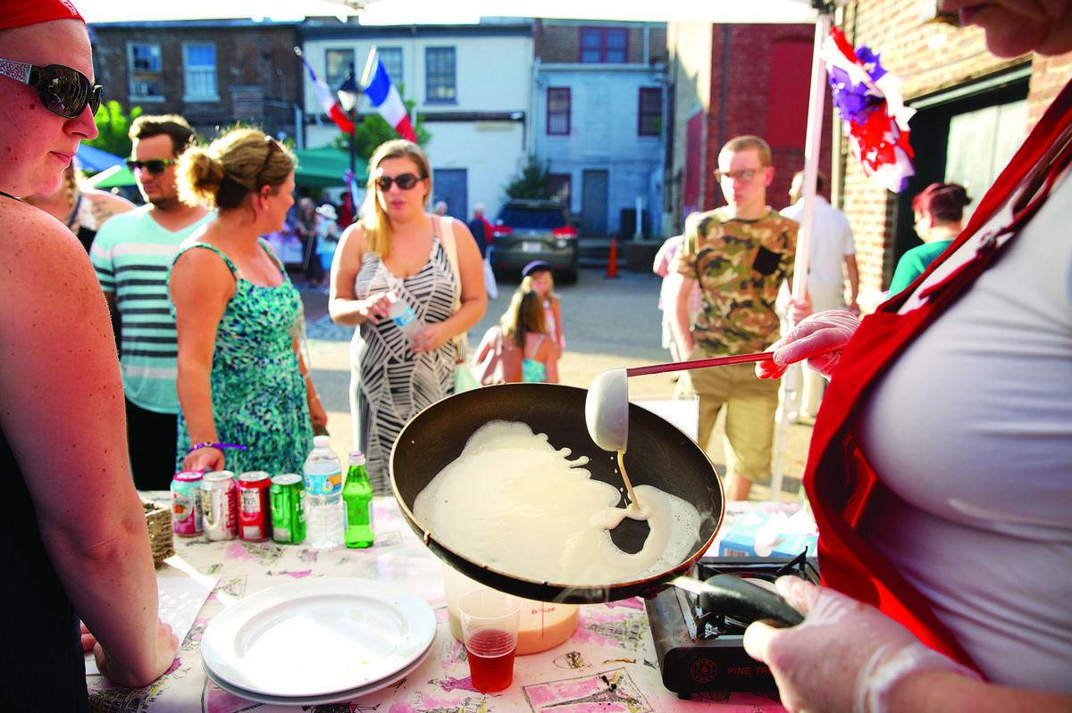 Bastille Day celebrated in Market Square Tuesday