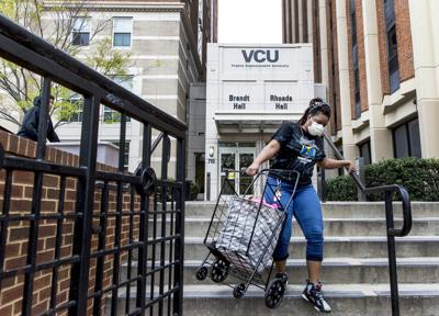 VCU move out coronavirus