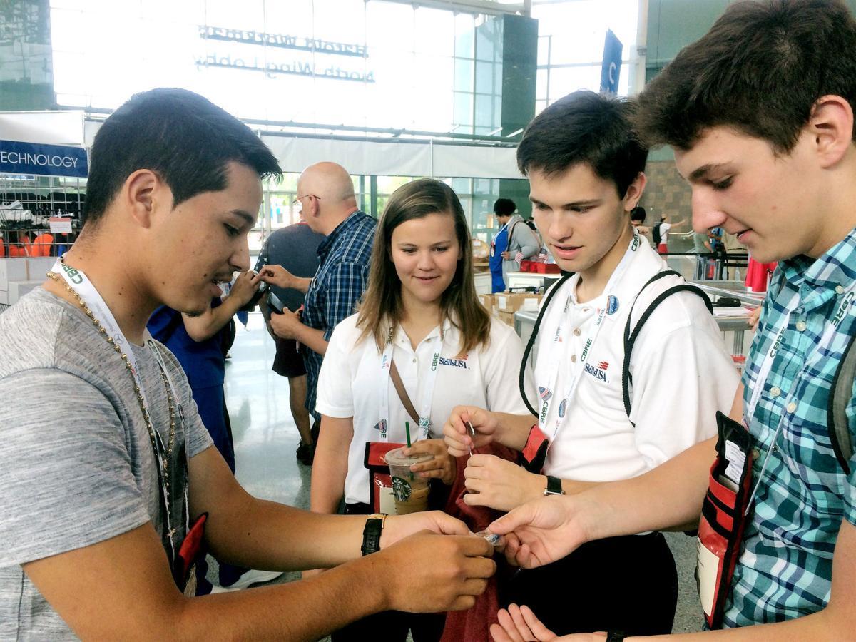 Stafford students represent state at SkillsUSA national championships