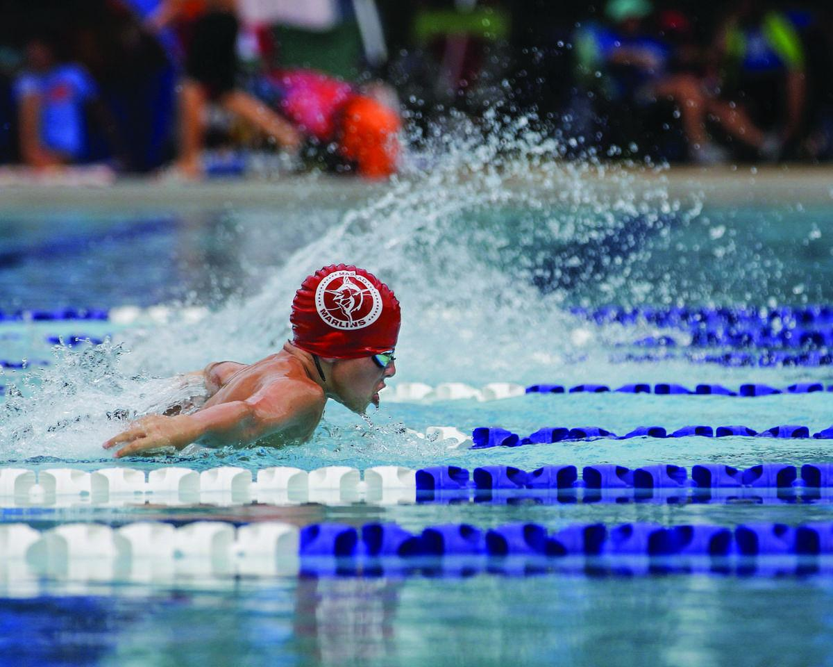 Swimming pool is a second home for eichberg family sports for Dixon park swimming pool fredericksburg va