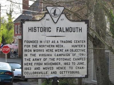 PHOTO: Historic Falmouth sign