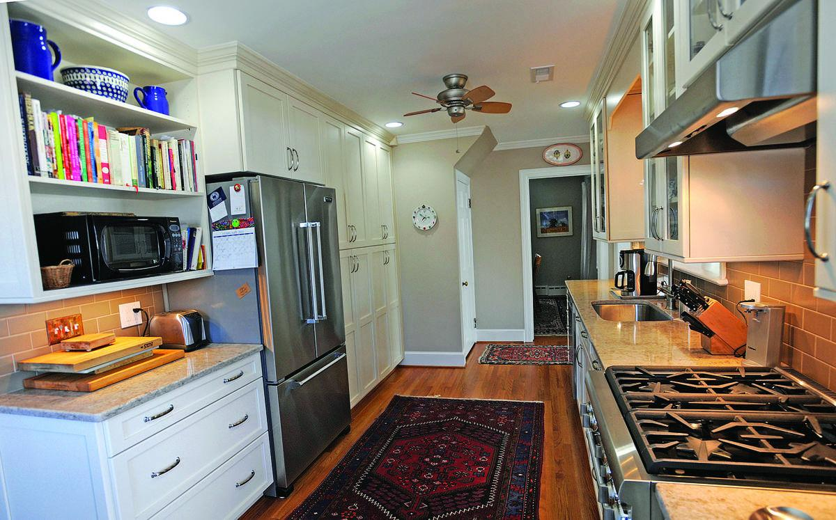 Remodeled kitchen, family room addition renew city home | Features ...