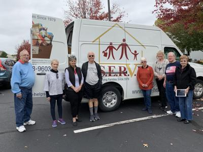 NARFE: Falls Run group collects food for SERVE