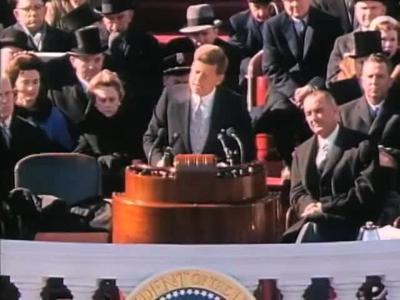 PHOTO: JFK Inauguration