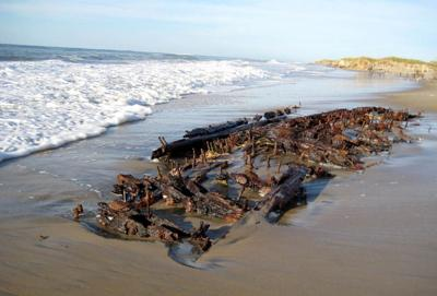 Outer Banks shipwreck