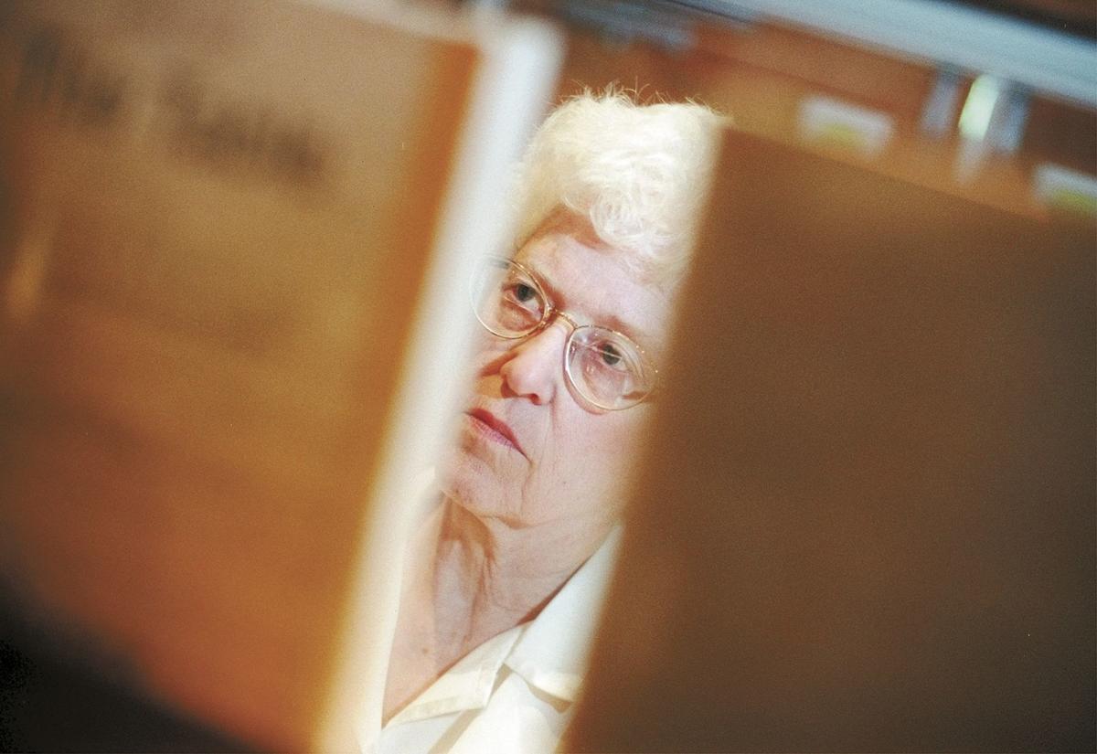 Marilla Haas in 2000