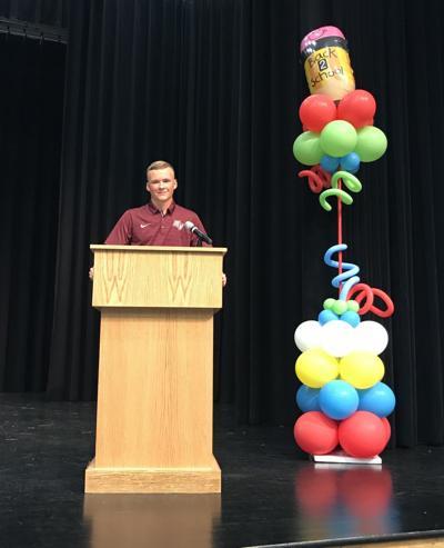 BACK TO SCHOOL: Cadet addresses Stafford County's new teachers