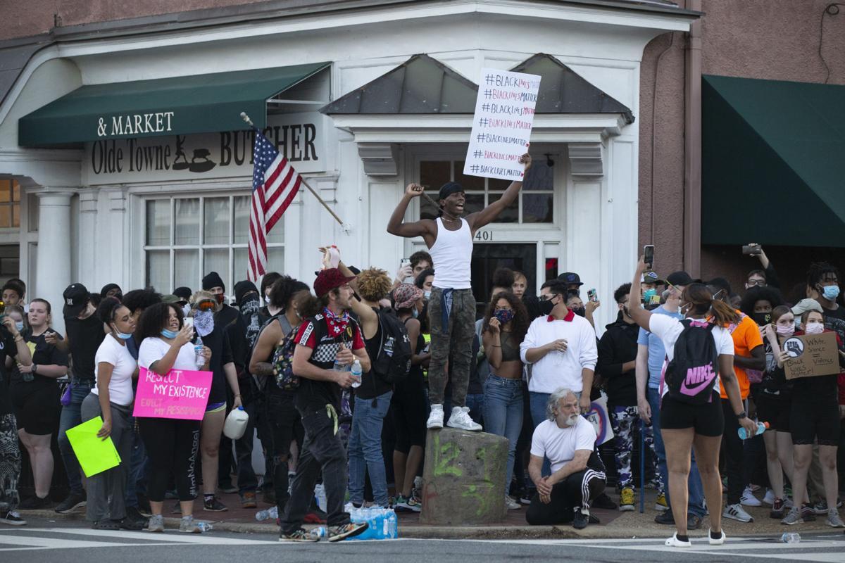 Fredericksburg Protest