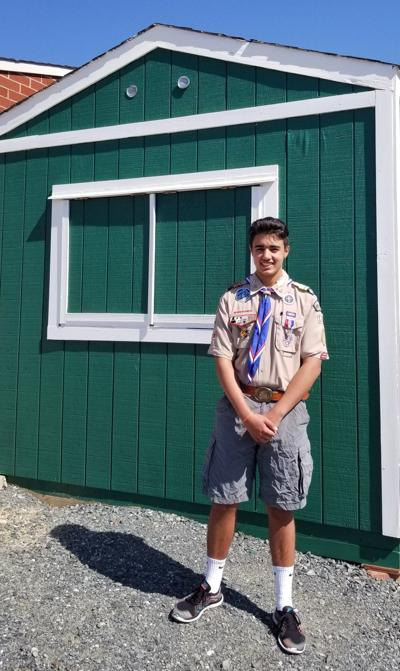 Colonial Forge Scout earns Eagle rank