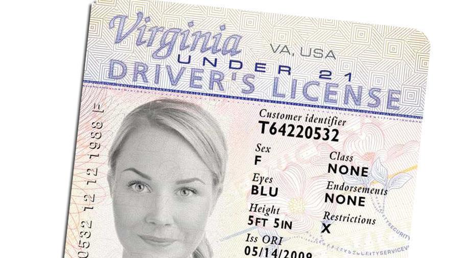 Virginia driver's license