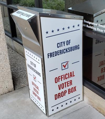 Fredericksburg election drop box