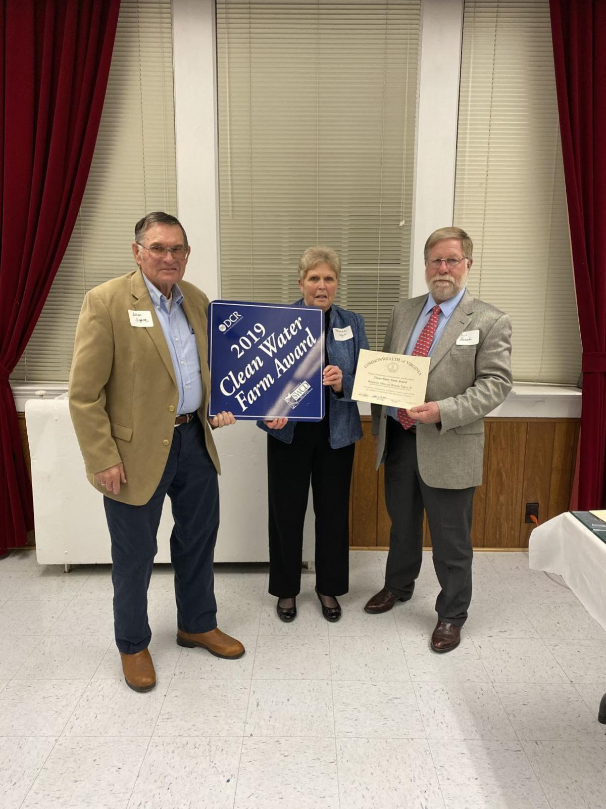 Allen and Brenda Tignor—2019 Clean Farm Award
