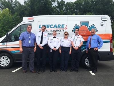 LifeCare unveils new ambulances, honors service