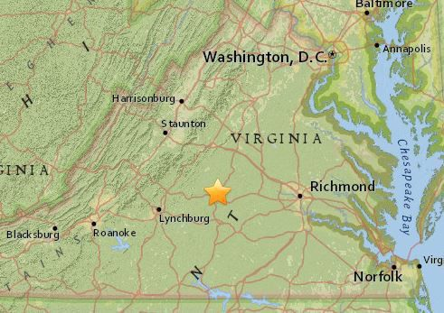 how to format a business letter earthquake this morning in central virginia va md dc 22430