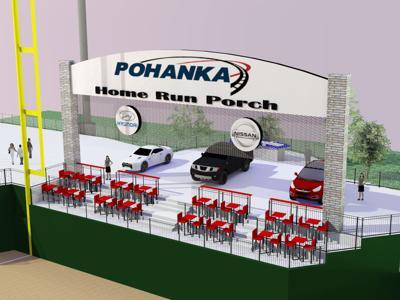 Pohanka Home Run Porch