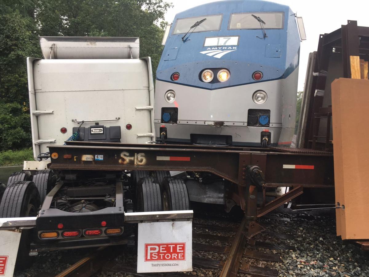 Amtrak Downeaster Train Hits Car Stuck On Tracks