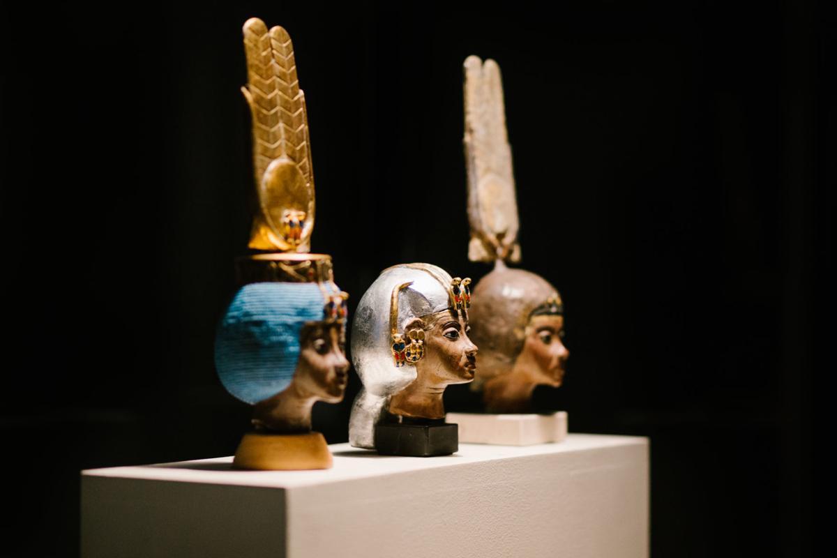 Changing Headdresses of Queen Tiye