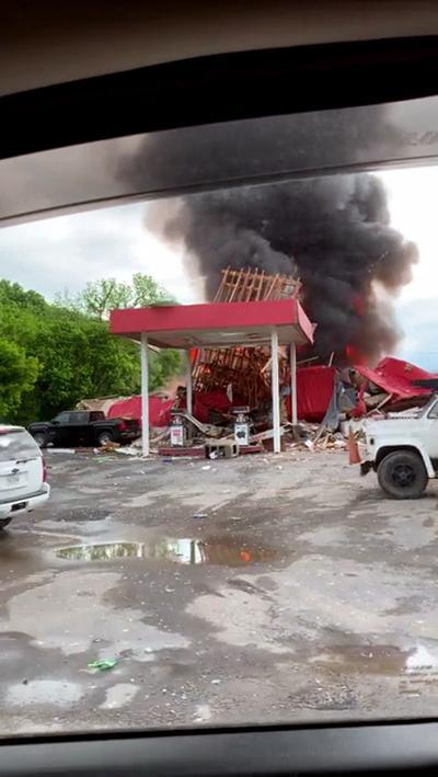 Rockbridge explosion