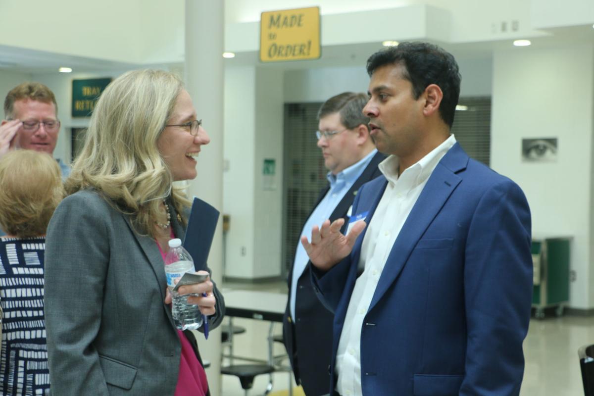 U.S. Rep. Abigail Spanberger at broadband summit