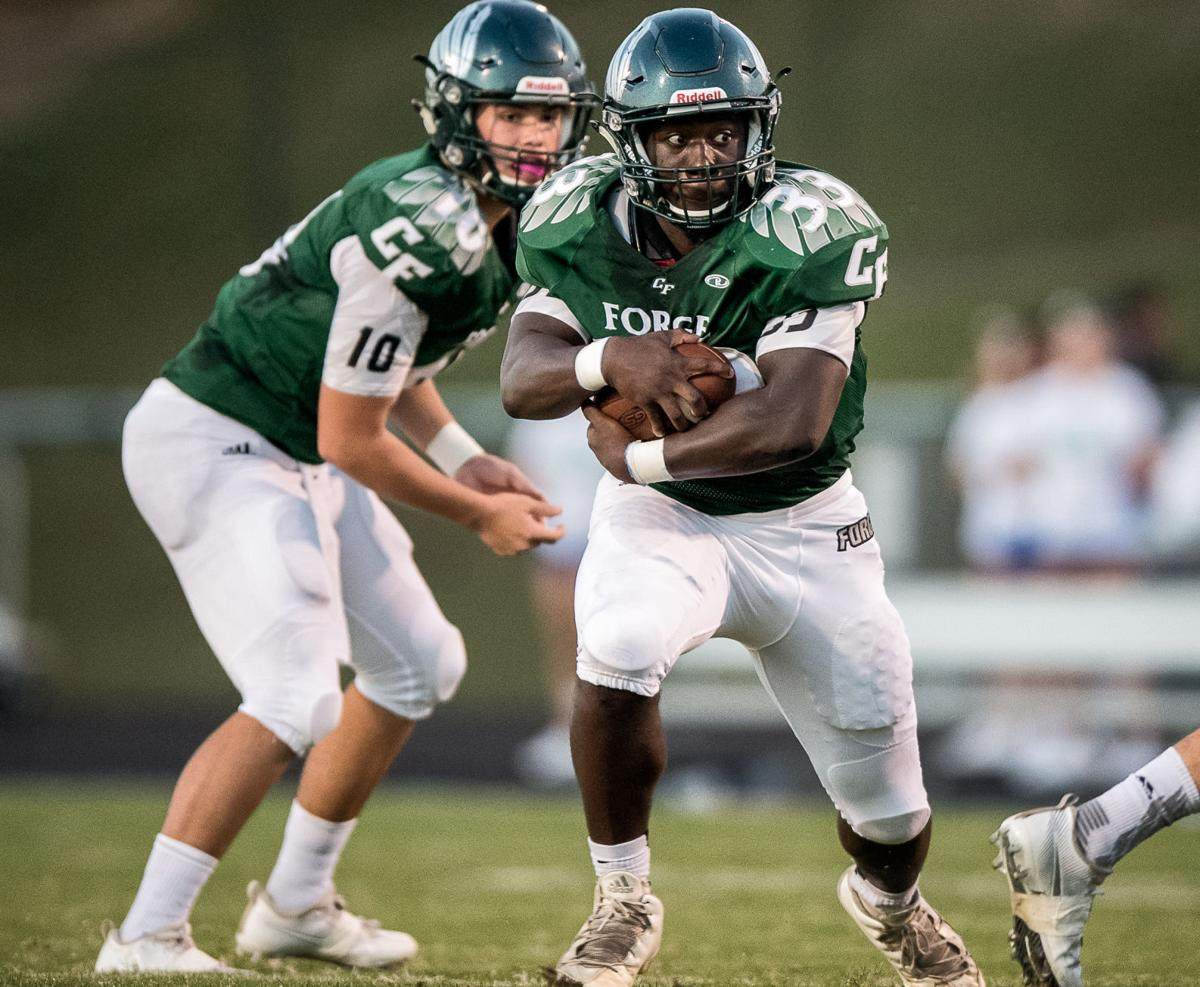 Riverbend at Colonial Forge football