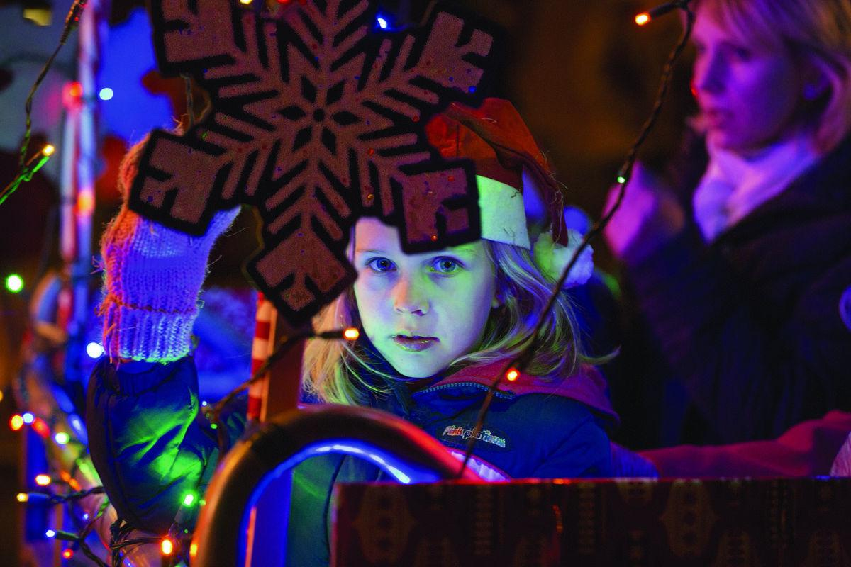 Stafford brings holiday sparkle with inaugural parade