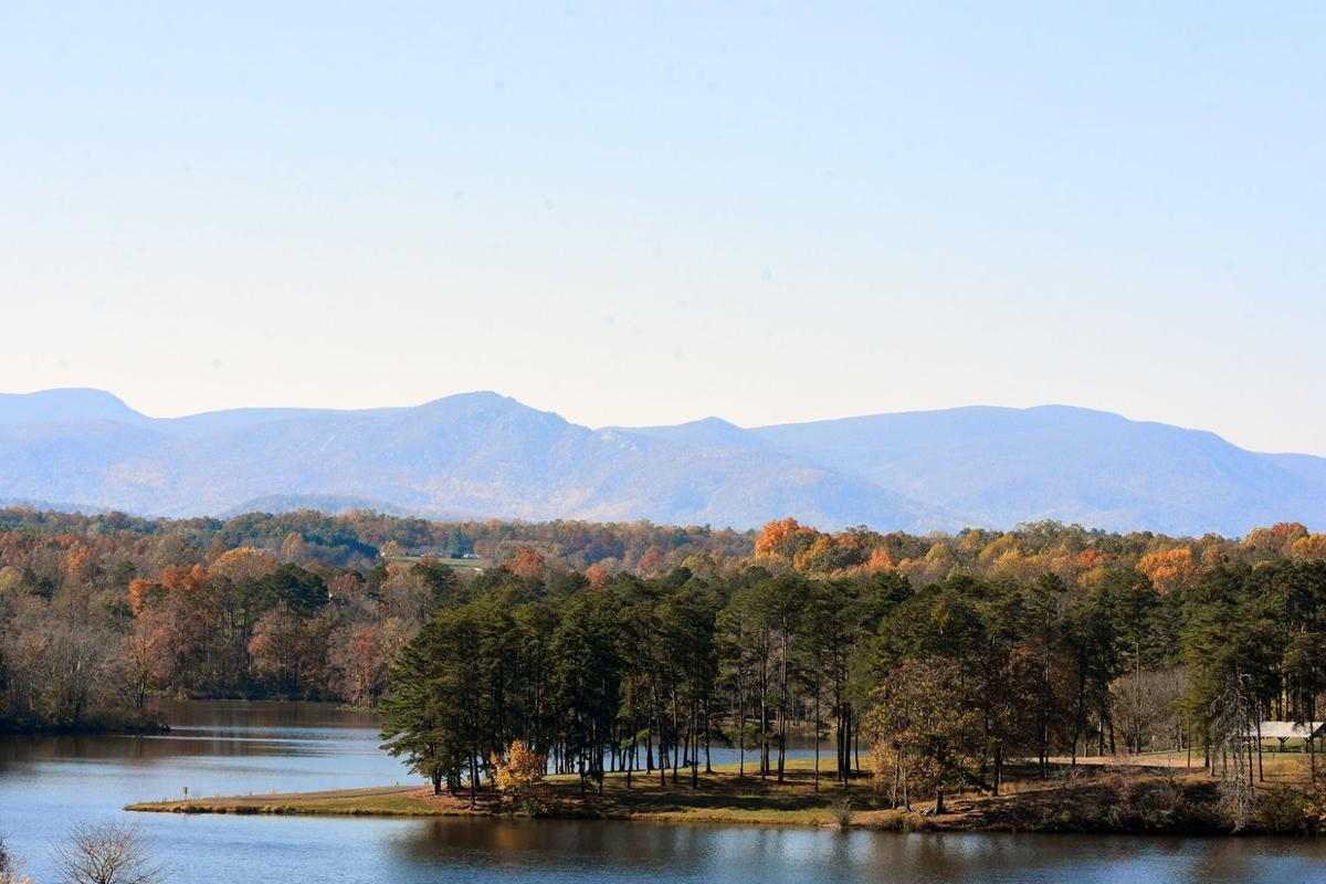 Mountain Run Lake fall 2019