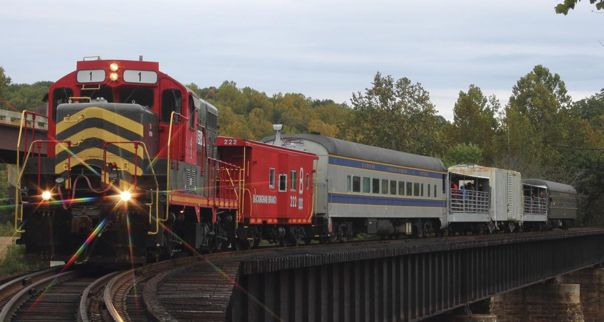 Fredericksburg Va Map >> Old Dominion train tours for autumn and winter promise ...