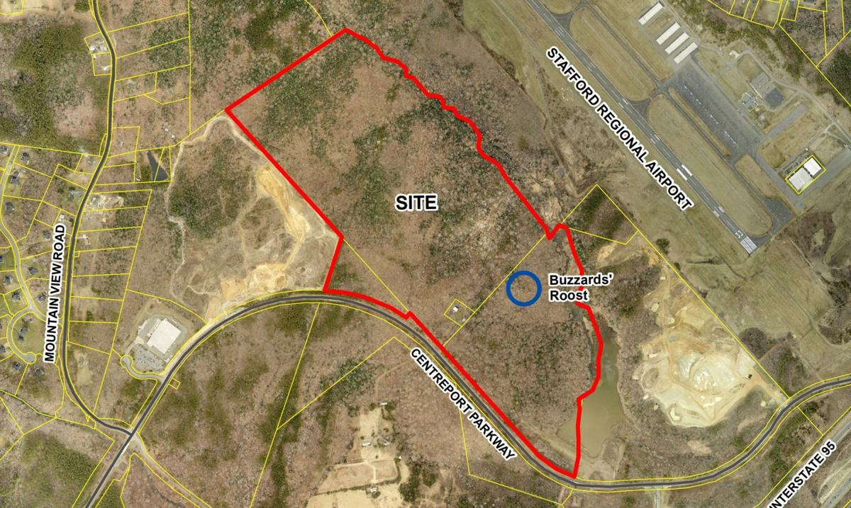 Future warehouse complex project near Stafford Regional Airport (copy)