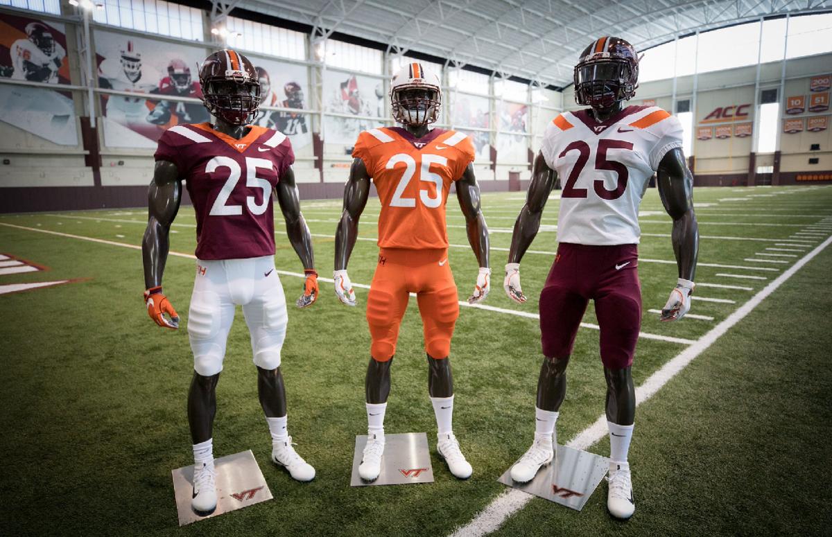 Hokies unveil new football uniforms  197af253b