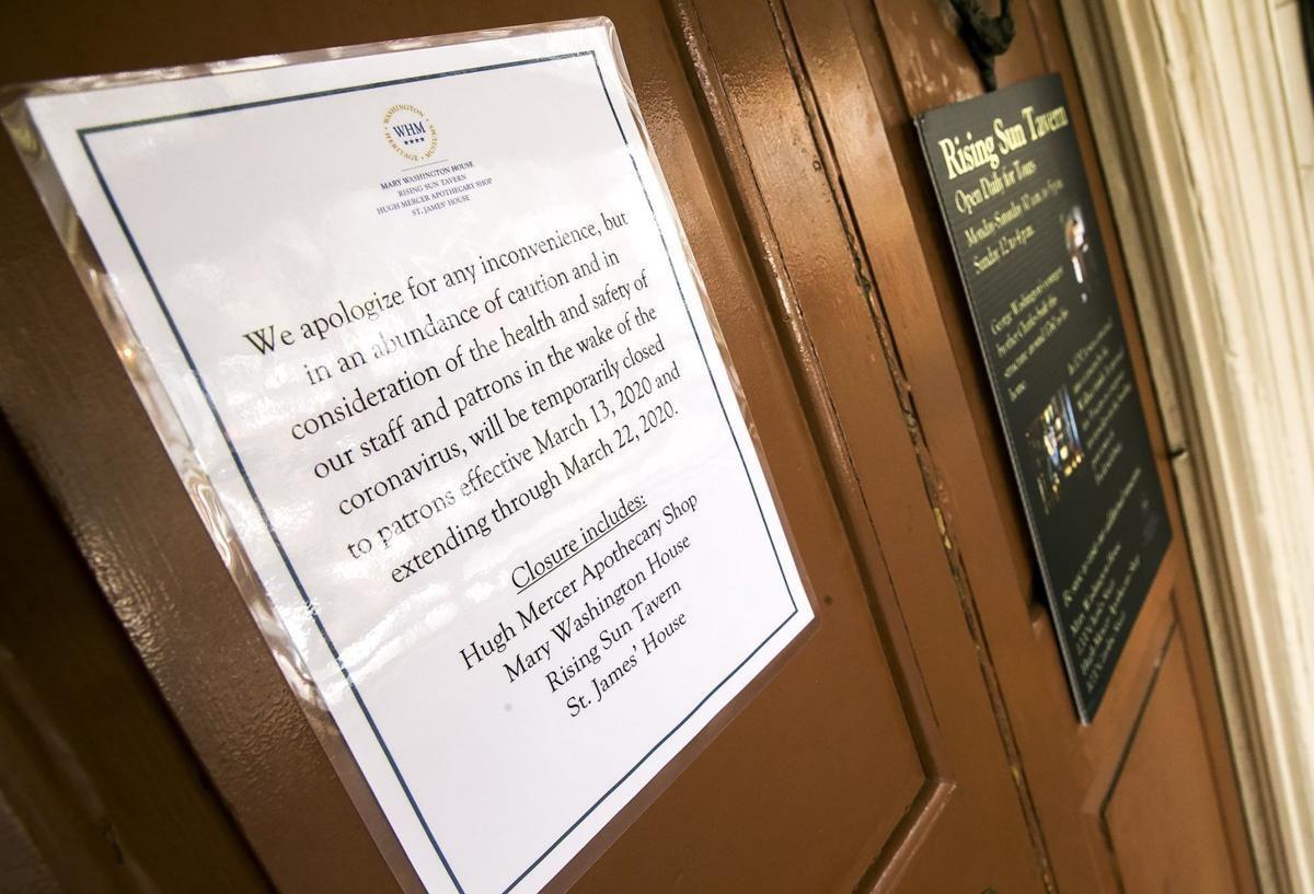 PHOTO: Coronavirus closure