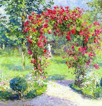 Gari Melchers Home and Studio unveils 'Crimson Rambler' this Saturday